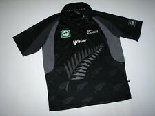 BLACKCAPS NEW ZEALAND  Wstar  CRICKET TRIKOT SHIRT JERSEY  Size:M (XL) EXCELLENT