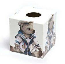 Tissue Box Cover Sailor Teddy Design
