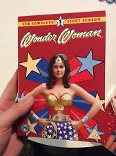 WONDER WOMAN Complete First Season 1 DVD 1975 Lynda Carter DC Comics Region 2