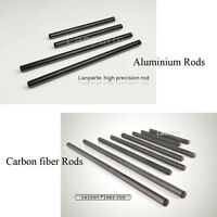 Lanparte 15mm Camera Rods Tube Extension Rail 200mm~450mm Carbon Fiber Metal