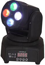 Ibiza Lmh350rgbw-mini Lyre DMX a 4 LED RGBW 10w avec EF
