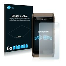 6x Screen Protector for Nokia n8 Plastic Film Invisible Shield Clear Protection
