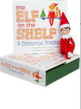 The Elf on the Shelf: A Christmas Tradition Light Skin, Blue Eyed Boy Elf NIB