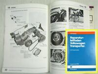 Reparaturleitfaden VW T3 2,0l Motor Mechanik CU Vergaser 34-PDSIT 1979