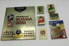 Russia 2018 Gold Edition album + set completo + aggiornamenti + C1 C12 Panini