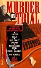 Murder on Trial Gardner, Erle Stanley, Mortimer, John, Ritchie, Jack, Doyle, Ar