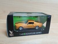 1:43 Scale Yat Ming, (Signature Series) 1967 Shelby Mustang GT500 Orange