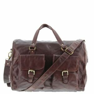 Cobb & Co Soho Leather Overnight Duffle Bag  All Business Bags