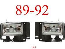 Head Light Kit Ford 91 92 93 94 Explorer, 89 90 91 92 Ranger, 89 90 Bronco II