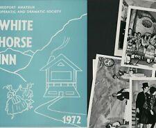 More details for bridport amateur operatic society 1972 'white horse inn'  + photos  e3.290