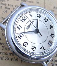 RAKETA ROCKET 2614.H SILVER DATE Vintage Soviet Russian Mechanical Mens watch