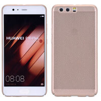 Huawei P10 Lite Funda Estuche Móvil Funda Protectora Carcasa Oro