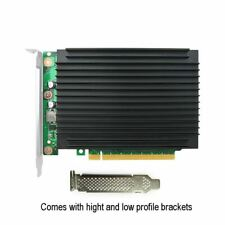 LRNV95NF Quad PCIe 3.0 x16 to 4-Port M.2 NVMe Adapter