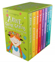 NEW Anne of Green Gables 8 Books Complete Collection Library Classic Kids Set!