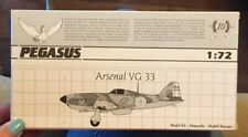 Pegasus Arsenal VG 33 1/72 2018 Parts are sealed!