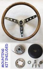 "1968-69 Barracuda steering wheel PLYMOUTH 13 1//2/"" CLASSIC CHROME steering wheel"