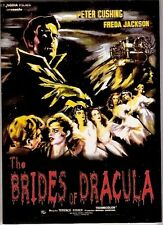 THE BRIDES OF DRACULA (DVD,1960) HORROR PETER CUSHING VAN HELSING HAMMER