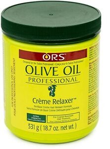 ORS Olive Oil Professional Creme Relaxer Extra Strength Hair Textures 531g