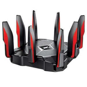 TP-Link Archer AX11000 Tri-Band Wi-Fi 6 Router 8 Gigabit Lan Ports