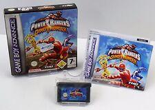 Nintendo Game Boy Advance GBA - Power Ranger Dinothunder + Anleitung + OVP