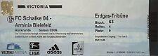 TICKET 2005/06 FC Schalke 04 - Arminia Bielefeld
