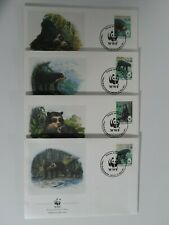 HobbyVision : BOLIVIA 1991 WWF SPECTACLED BEAR 4 FDC FAUNA - WORLD