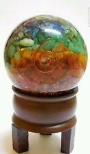 Reiki Energy Charged 7 Chakra Orgone Ball Sphere Reiki Healing Meditation UK