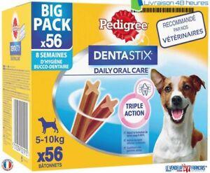Pedigree Dentastix 56 bâtonnets Friandises pour Petit / Moyen / Grand / Chien