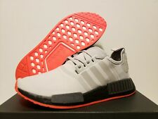 29aa9f87f DS Adidas NMD R1 GREY SOLAR RED REFLECTIVE F35882 Size 5