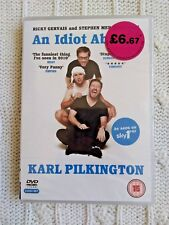 AN IDIOT ABROAD – DVD, 2-DISC SET, REGION-2, NEW, FREE POST WITHIN AUSTRALIA