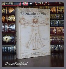 The Graphic Work of Leonardo da Vinci Art Paintings New Sealed Deluxe Hardcover