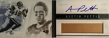 2011 Panini Playbook Football Platinum #104 Austin Pettis Auto Patch 16/25 Rams