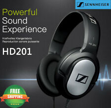 Sennheiser Hd 201 Lightweight Over Ear Headphones Hd201 Headphone Headset