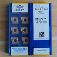 10Pcs CNMG120408-PM YBC251 CNMG432 ZCC.CT Original Carbide inserts For steel New