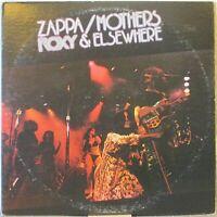 FRANK ZAPPA/MOTHERS Roxy & Elsewhere 2-LP Set – on Warner Bros. (USA, 1974)