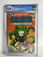 Dc Comics Kamandi The Last Boy On Earth #12 CGC Graded 9.6 Jack Kirby 1973