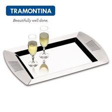 TRAMONTINA ® Rechteckig Tablett Serviertablett 35cm x 22cm Edelstahl 61145350