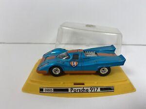 Rare GAMA Mini Porsche 917 #09605 Gulf 1/40 Scale - Made In Germany - BOXED