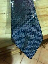 Cravatta di pura seta Hugo Boss blu scuro