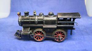 IVES Prewar O Gauge Cast Iron Clockwork 17 Steam Locomotive! CT