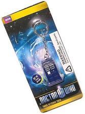 Dr Who: ufficiale BBC Tardis Illuminante Portachiavi Bianco Torcia a LED