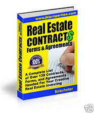 Real Estate Contracts, Forms & Agreements For Investing
