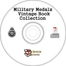 Military Medals Vintage Book Collection on CD