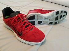 Nike Lunaracer 3 Running Shoes Rare - Flywire - Lunarlon Foam - 11 - Red Gray