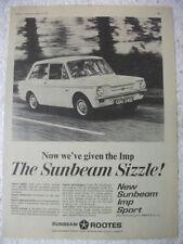 Sunbeam British Car & Truck Advertising Collectables