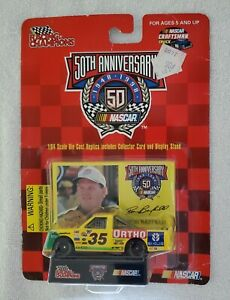 Racing Champions Ron Barfield #35 Ortho NASCAR 50th Anniversary Craftsman Truck