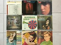 Lot of (9) Jazz, polka and classic LP Records