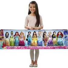 New Disney Princess Shimmering Dreams Collection Girls Dolls 11 Pack Play Set