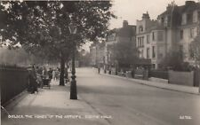 London Real Photo Postcard. Chelsea. The Home of  the artists. Cheyne Walk. 1939