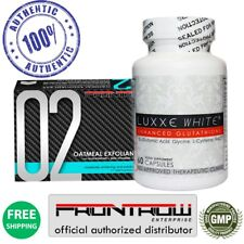 Authentic Luxxe White Glutathione 2pc Set With Frontrow Oatmeal Whitening Soap